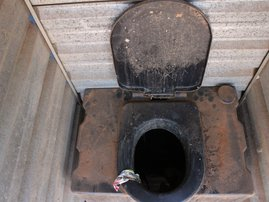 Tembisa chemical toilets