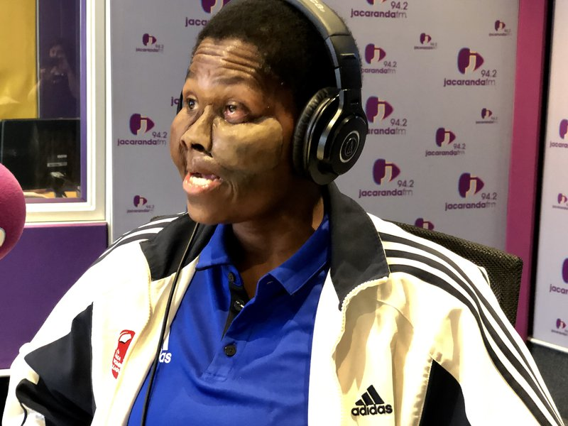 Ruth Luthuli on Breakfast with Martin Bester