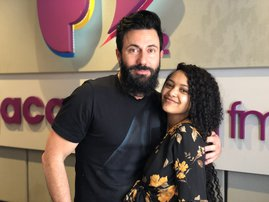 Paxton spreads Christmas cheer on Breakfast with Martin Bester