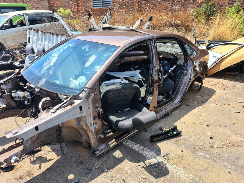 Stripped car breakfast