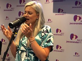 Demi-Lee Moore sings on Breakfast with Martin Bester