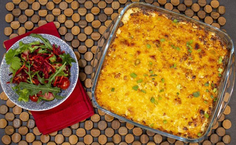 ALLSOME Chicken Broccoli Rice Bake / Supplied