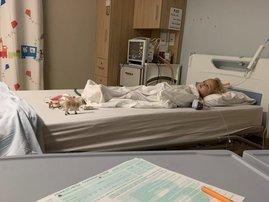 Elah in hospitaal