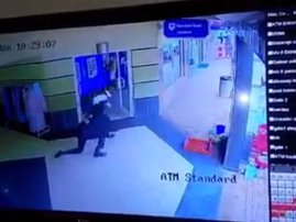 Image security kick footage