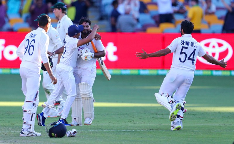 Record-breaking India clinch Australia Test series in Gabba thriller
