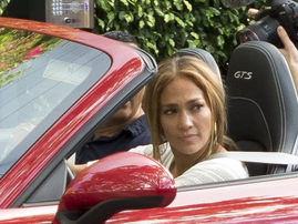 Jennifer Lopez and A-Rod