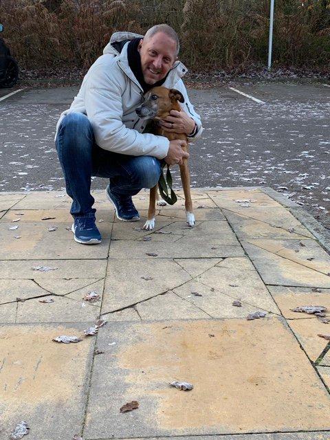 Damon and his dog
