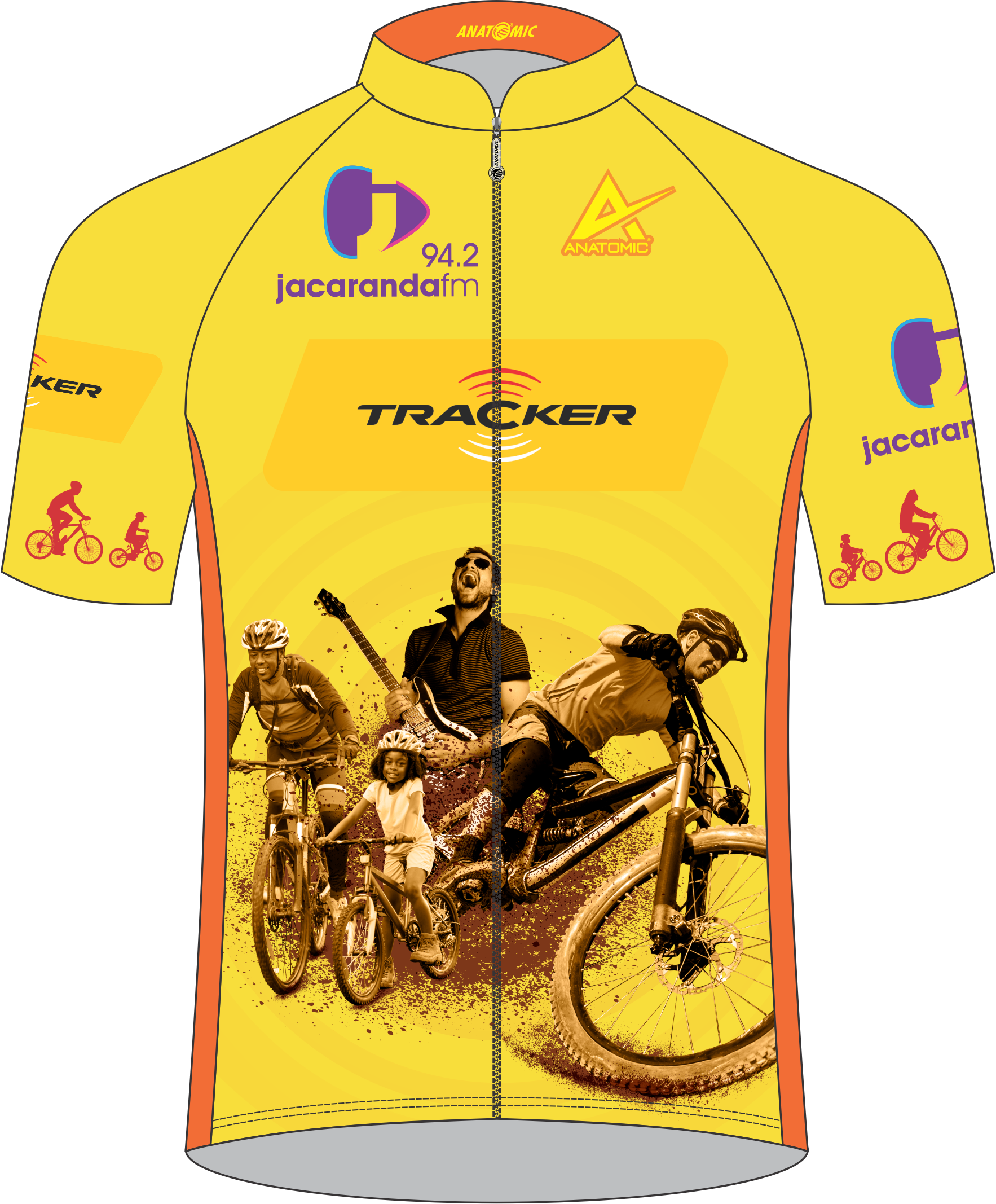 2019 Off the Beat' n Track Cycling Jersey