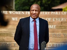 Minister in the Presidency Jackson Mthembu