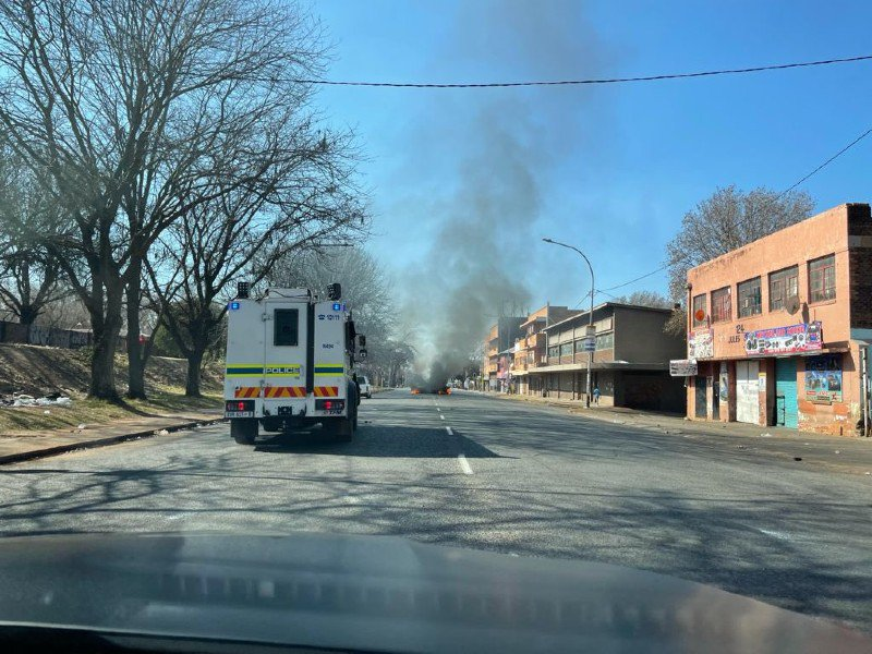 Jeppestown Unrest 2 July 2021