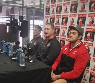 Johan Ackermann with captain Jaco Kriel and lock Andries Ferreira_facebook