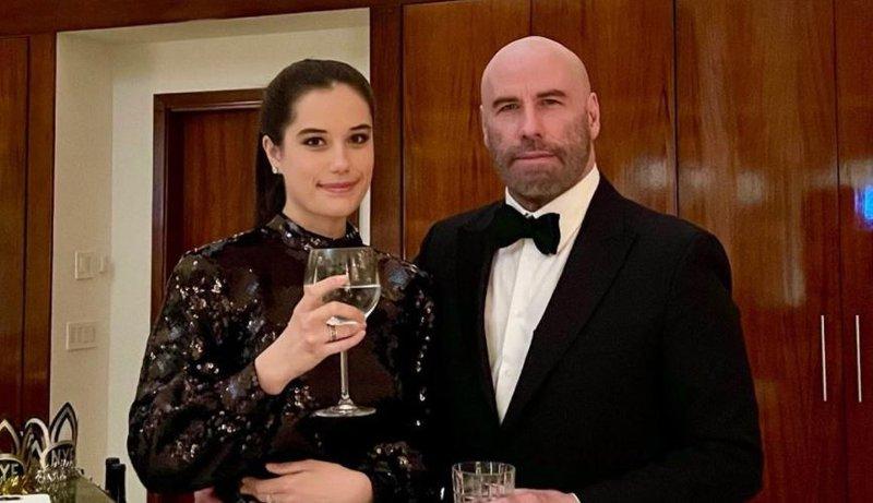 John Travolta and his daughter Ella