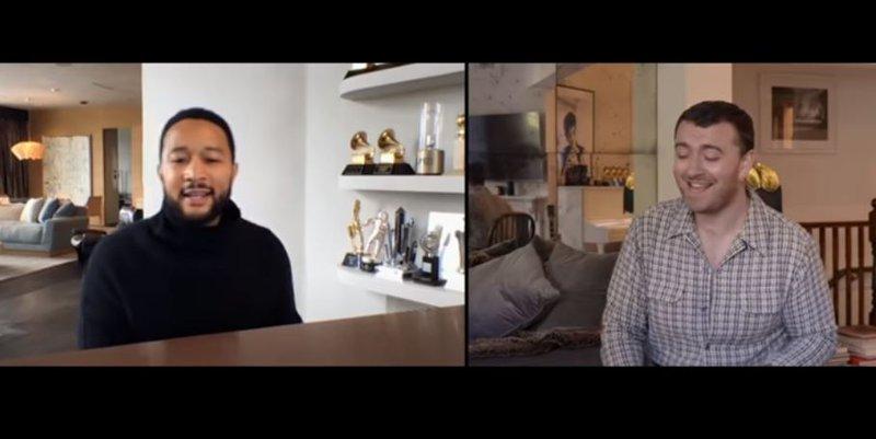 John Legend and Sam Smith