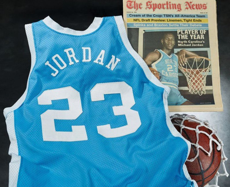 Michael Jordan jersey record