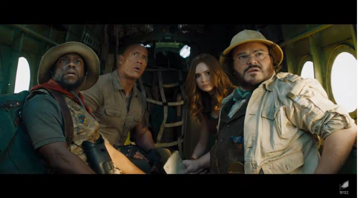 Jumanji sequel trailer