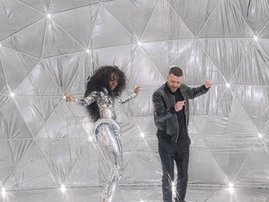 Justin Timberlake and SZA
