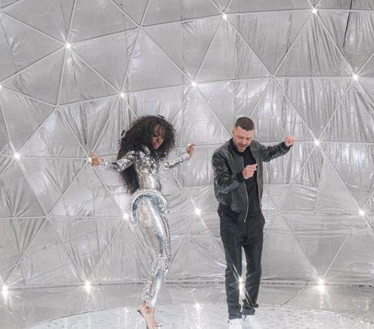 Justin Timberlake and SZA