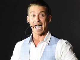 Comedian Kevin Fraser
