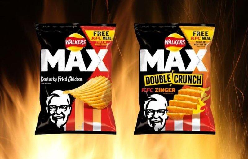 KFC flavoured chips