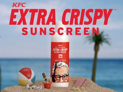 Image result for kfc sunscreen