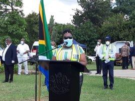 Health MEC Nomagugu Simelane-Zulu Kingsway Hospital
