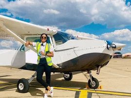 INSPIRING: Kelly Slingers, helping communities with supplies one flight at a time...