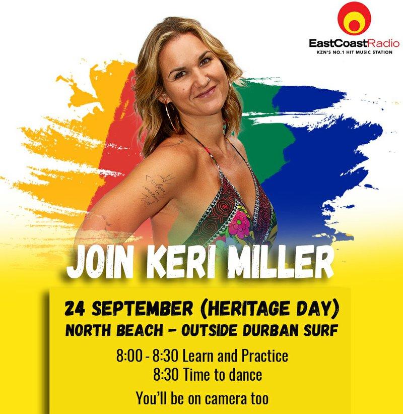 Join Keri Miller for the #JerusalemaDance Challenge