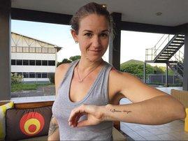 VIDEO: The inspiring story behind Keri's new tattoos!
