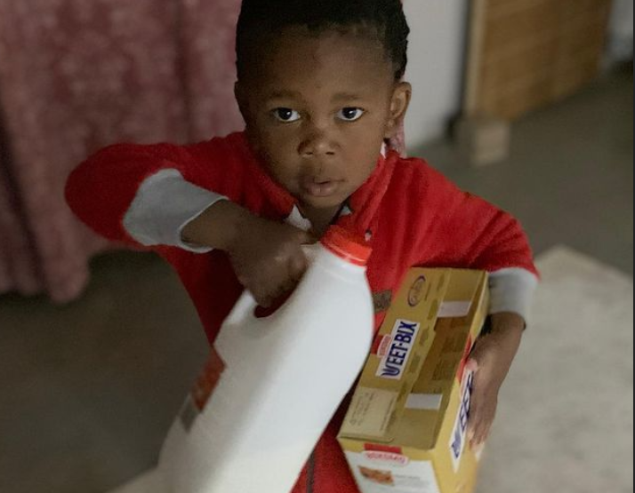 WATCH: Cute toddler makes breakfast at 3 am