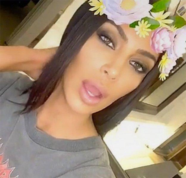 Kim Kardashian on drugs?