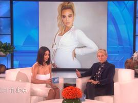 Kim on Ellen