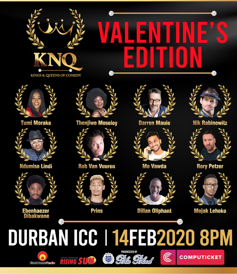 Kings & Queens of Comedy: Valentine's Edition