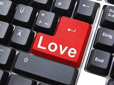 Abholung vs online-dating