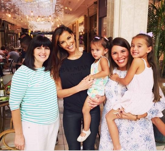 Lee-Ann Liebenberg daughter lunch date
