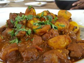 Carla's lamb curry