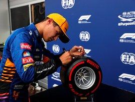 Lando Norris Russian Grand Prix pole