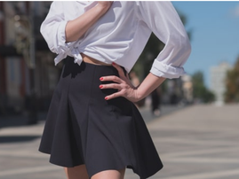 If you know what 'upskirting' means then you should know that you could go to jail for it!