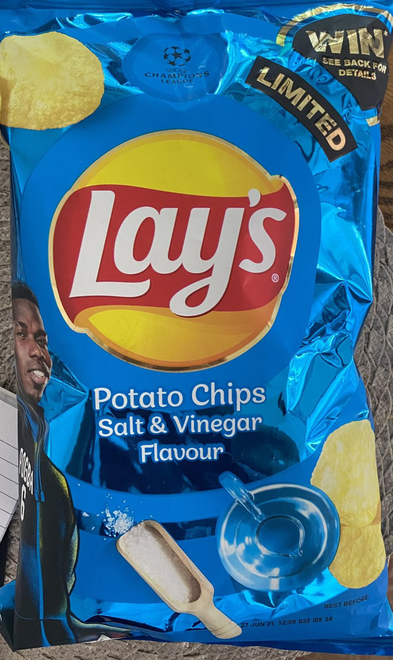 Lays Salt & Vinegar