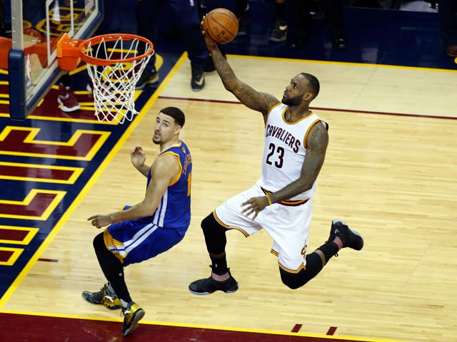 fff9fab2120 LeBron James to join NBA Lakers in four-year