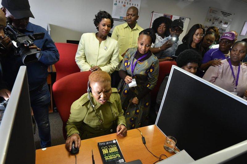 Minister of Social Development, Lindiwe Zulu.