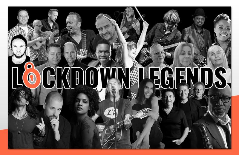 Lockdown Legends concert