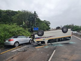 Westville taxi accident