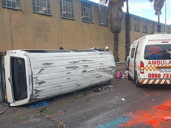 10 injured in Durban M4 accident