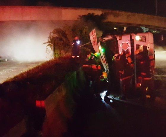 Man killed in Umbilo tanker crash