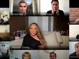 Mariah Carey and the Schitt's Creek cast