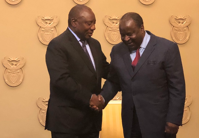 Ramaphosa to announce fate of Nene on Tuesday