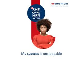 Momentum launches third annual #SheOwnsHerSuccess campaign