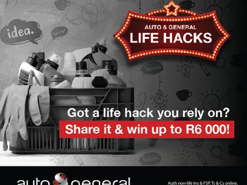 Win a share of R 50000 with Auto and General