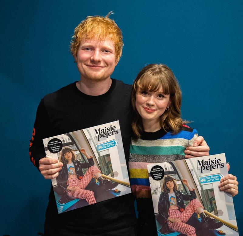 Maisie Peters and Ed Sheeran