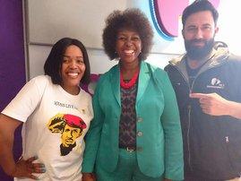 Makhosi Khoza image with Martin and Tumi